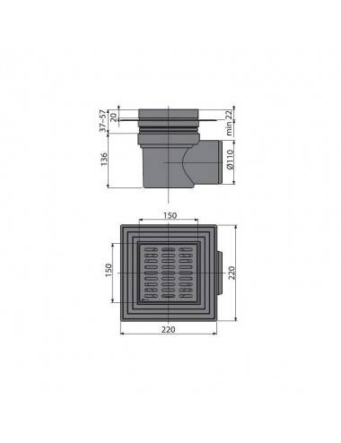 RELISAN ISABELLA 170 х 90 х 48 (250л) R акриловая ванна