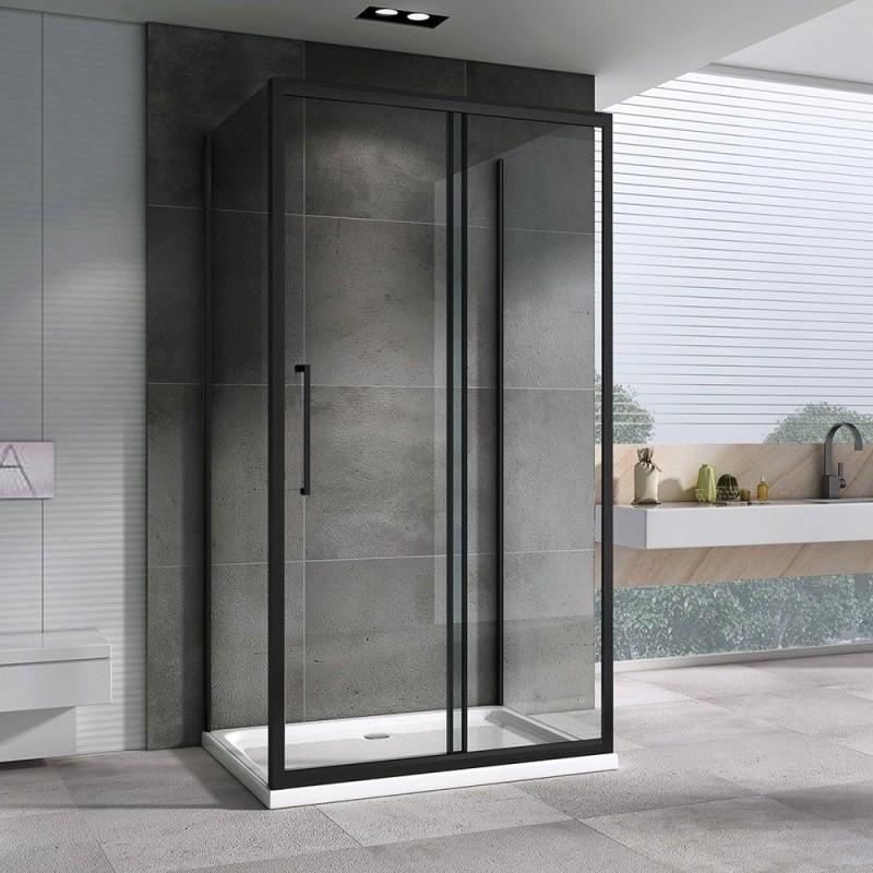 Решетка Alcaplast MP1200-850 камень белый/нерж. сталь матовая