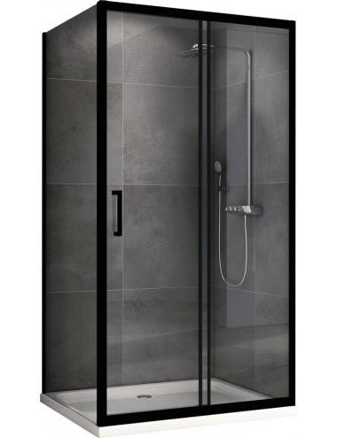 Решетка Alcaplast MP1205-1050 камень черный/нерж. сталь матовая