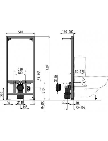 VAYER BOOMERANG 160 x 70 х 44 (185 л)