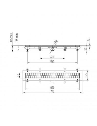 OMNIRES Y смеситель для ванны отдельностоящий, золотой, арт. Y1233GL