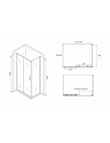 Инсталляция Alcaplast A104/850 для раковины
