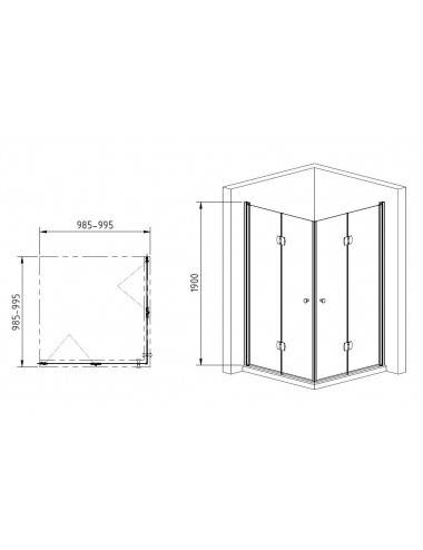 OMNIRES CGS сифон для ванны с переливом-сливом, белый глянец, арт. TK104-PLUS-3.35+64-SBP