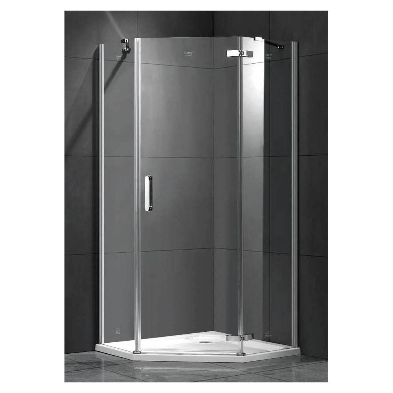 BERGES WASSERHAUS DEA 061009 90x90 стекло прозрачное/хром душевой уголок