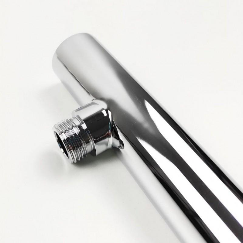 Berges Wasserhaus Gelios 061011 120 стекло прозрачное/хром душевая дверь