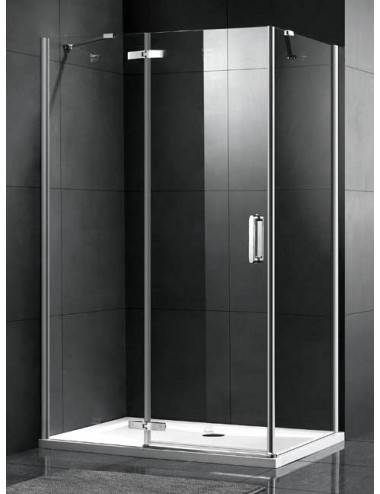 Berges Wasserhaus Gelios 061012 100 стекло прозрачное/хром душевая дверь