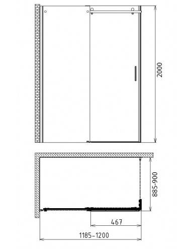 PAINI CATANIA CTCR121L7 душевой гарнитур