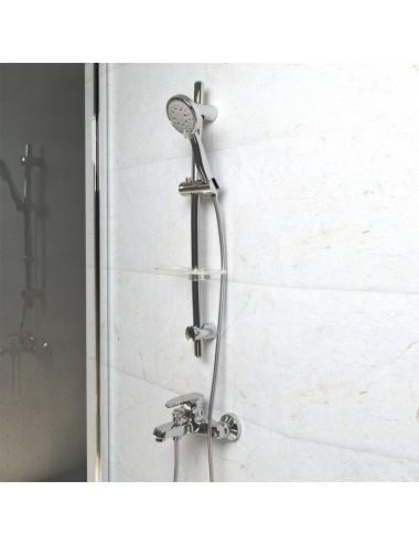 PAINI COX 78CR687TH1KM душевая стойка с термостатом и изливом