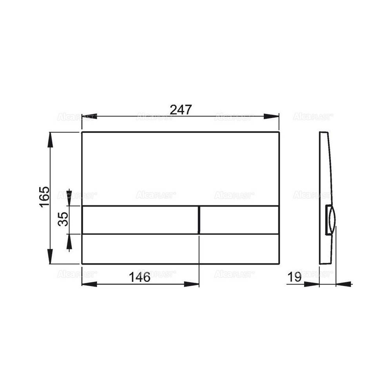 VAYER CASOLI 180 x 80 х 44 (245л) акриловая ванна