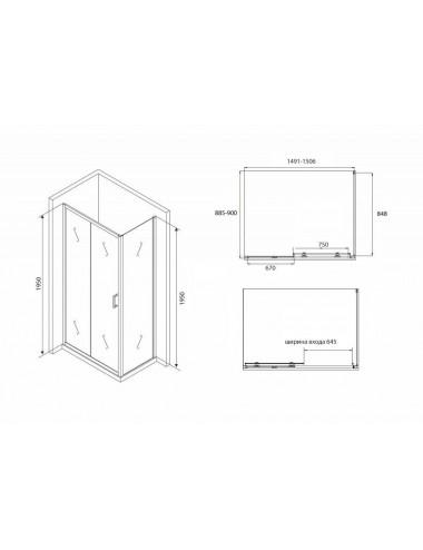 Инсталляция Alcaplast Sadromodul AM101/850 для унитаза