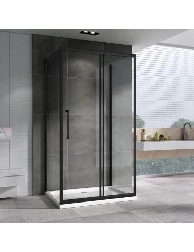 Клавиша смыва Alcaplast Basic M1728-5 черная/золотая