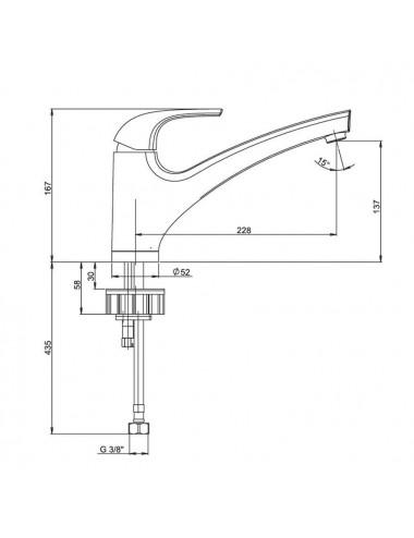 BERGES WASSERHAUS NOVUM L1 040211 инсталляция для унитаза, кнопка белая