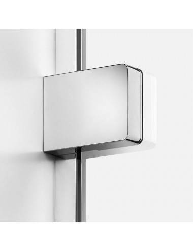 BERGES WASSERHAUS GELIOS 061003 100x80 стекло прозрачное/хром душевой уголок