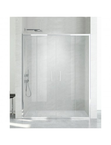 BERGES WASSERHAUS CITY 062011 100 стекло прозрачное/хром шторка для ванны