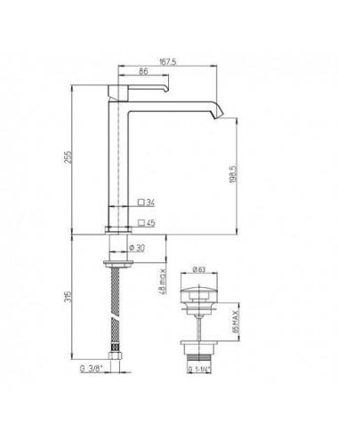 BERGES WASSERHAUS URBAN 061011 90x90 стекло прозрачное/хром душевой уголок