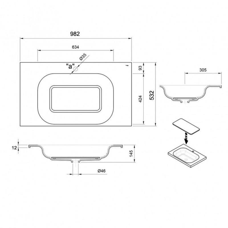 RIHO LYRA экран для ванны, с крепежем