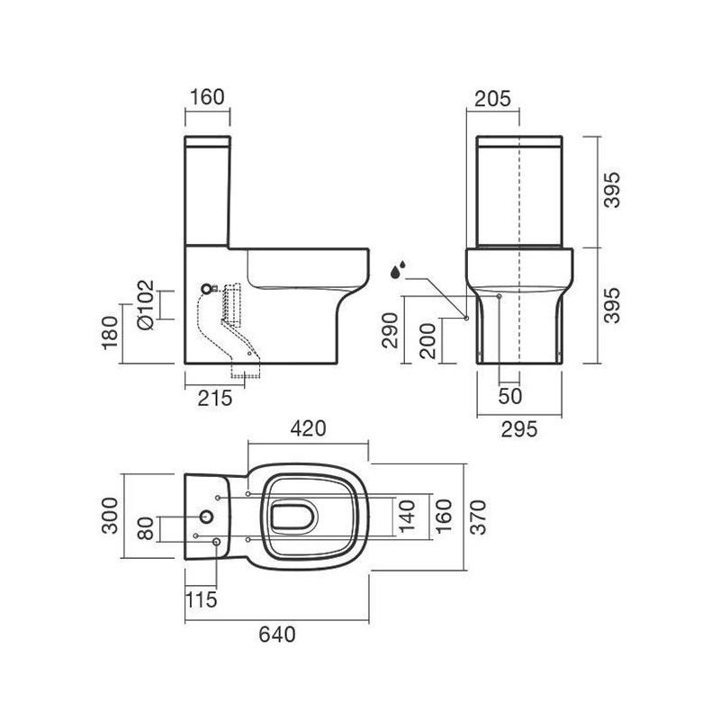 RIHO DB 18 душевой поддон 100x100 мрамор