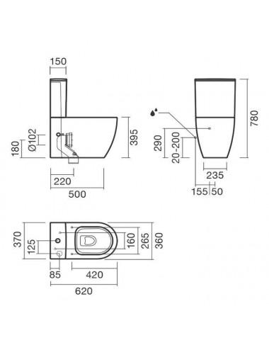 GEMY MODERN GENT S25191C душевая дверь 120 см