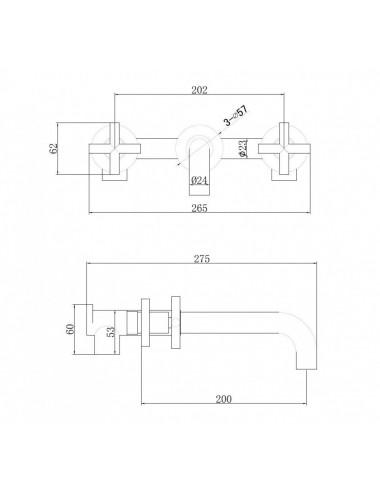 ALPEN LUNA 150x75 акриловая ванна