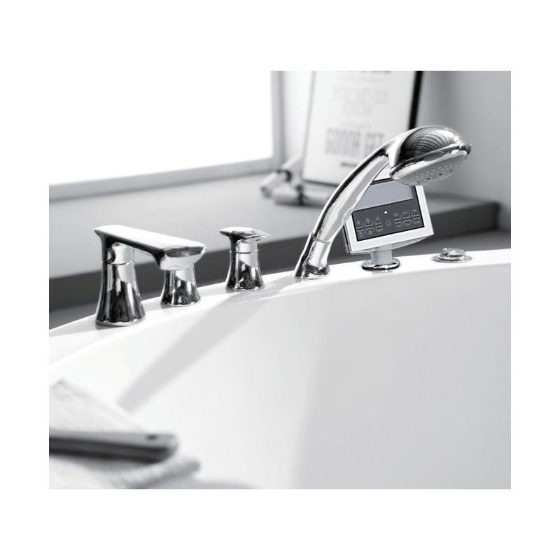 VEGA слив-перелив для ванны, автомат, хром