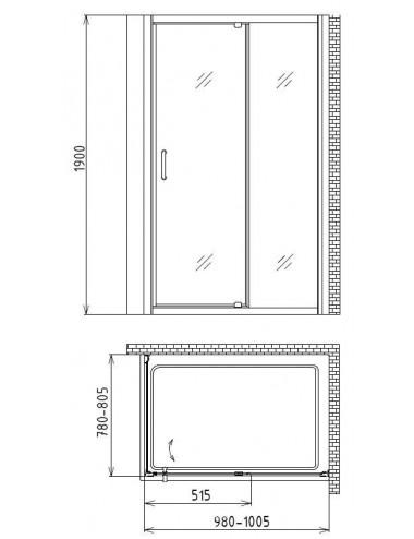 OMNIRES RENO держатель для туалетной бумаги, хром, арт. RN42510CR
