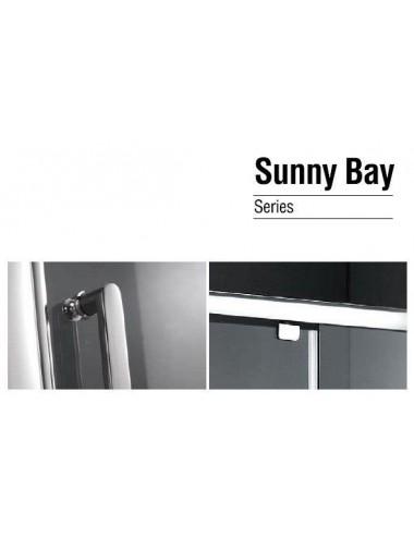 OMNIRES MANHATTAN душевая дверь 140 cм, хром / прозрачный, арт. ADP14XLUX-TCRTR