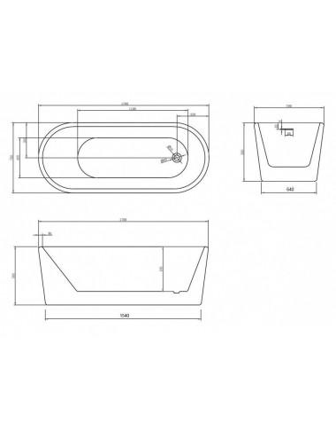 Душевой лоток Alcaplast Flexible APZ1004-750