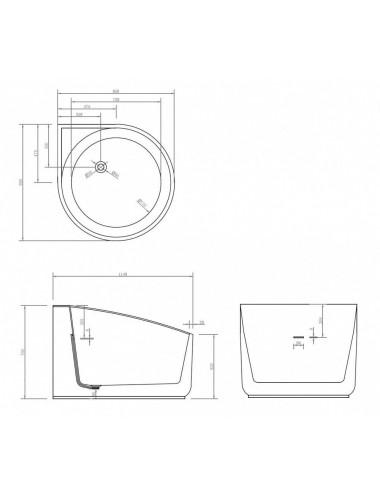 Душевой лоток Alcaplast Low APZ101BLACK-750