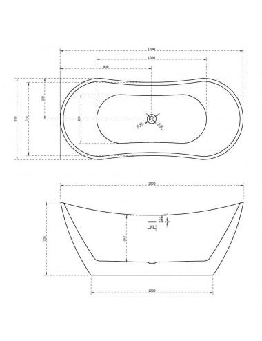 ALPEN экран для ванны RUMINA