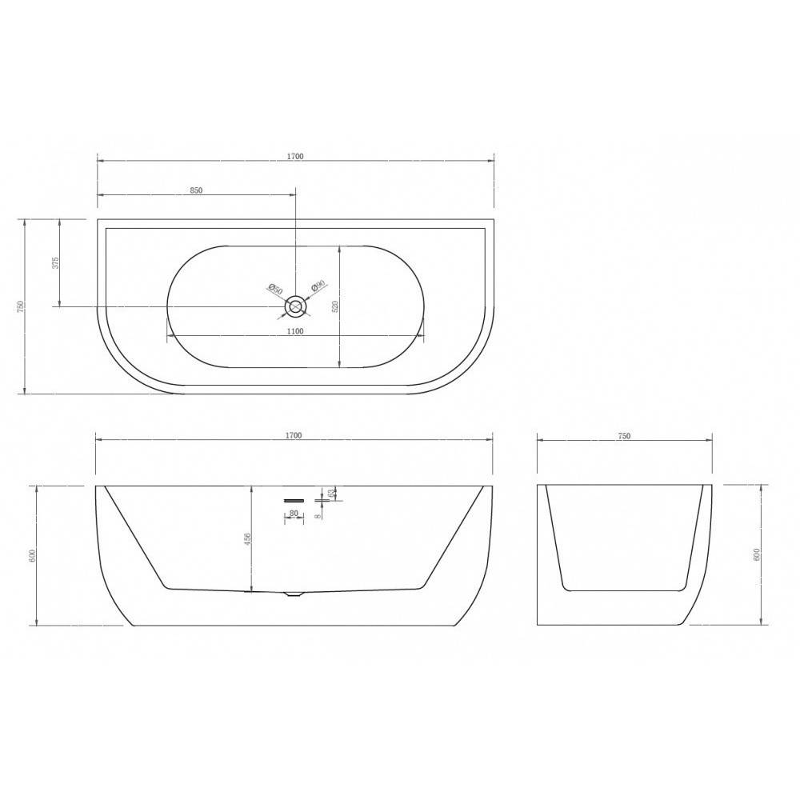 Душевой лоток Alcaplast Professional APZ1106-1150