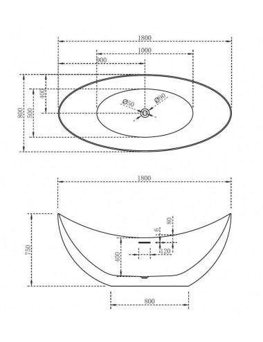 Душевой лоток Alcaplast Simple APZ10-650M