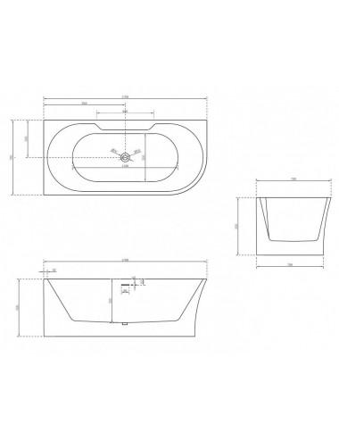 Душевой лоток Alcaplast Simple APZ18-550M
