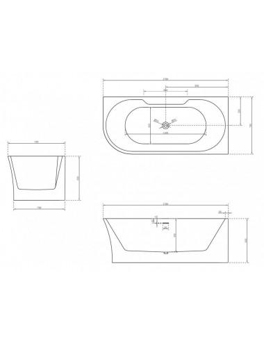Душевой лоток Alcaplast Simple APZ8 750M