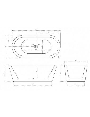 Душевой лоток Alcaplast Spa APZ5-EDEN-750