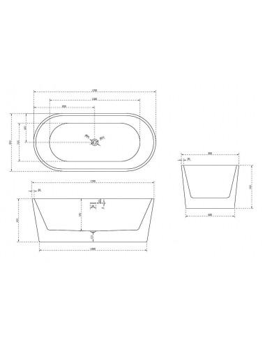 Установка ванны на каркас