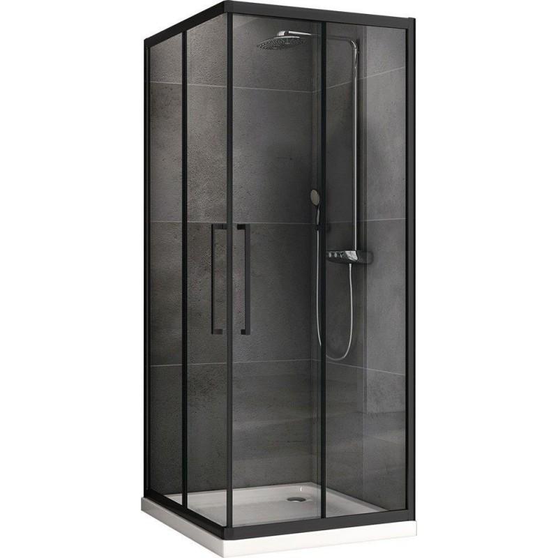 Решетка Alcaplast GL1200-550 белое стекло
