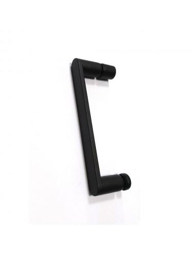 Решетка Alcaplast GL1204-550 черное стекло
