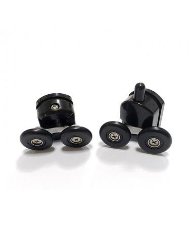 Решетка Alcaplast GP1204-550 черное стекло/нерж. сталь