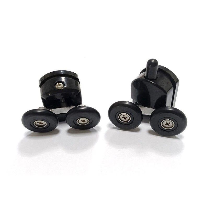 Решетка Alcaplast GP1204-850 черное стекло/нерж. сталь