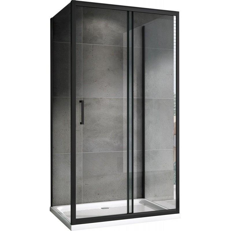 Решетка Alcaplast GL1204-1050 черное стекло